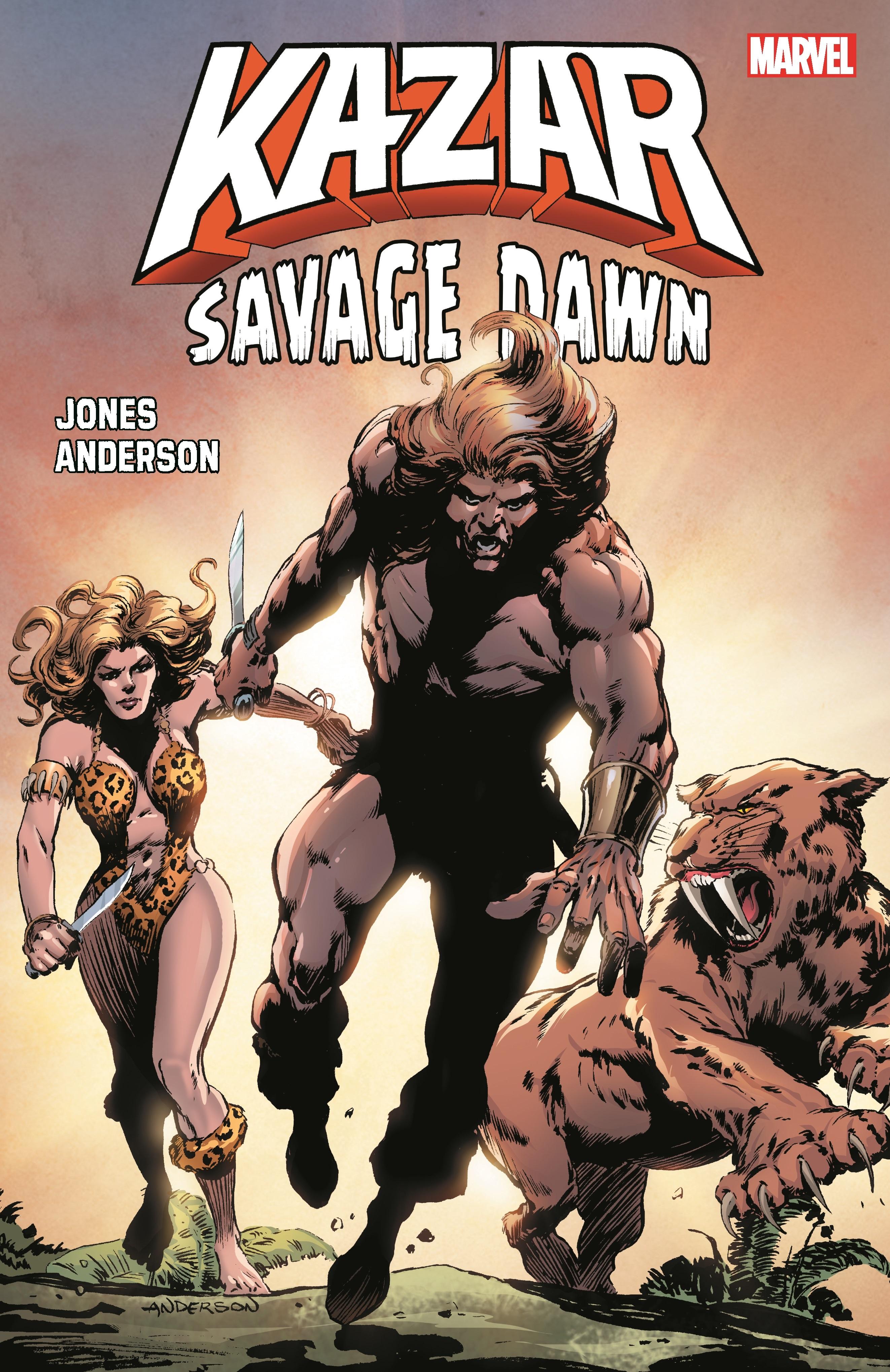 Ka-Zar: Savage Dawn (Trade Paperback)
