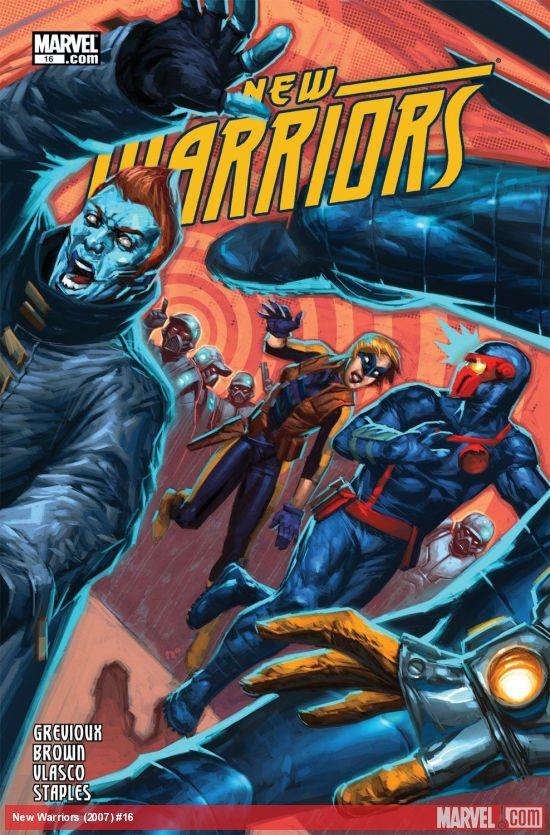 New Warriors (2007) #16