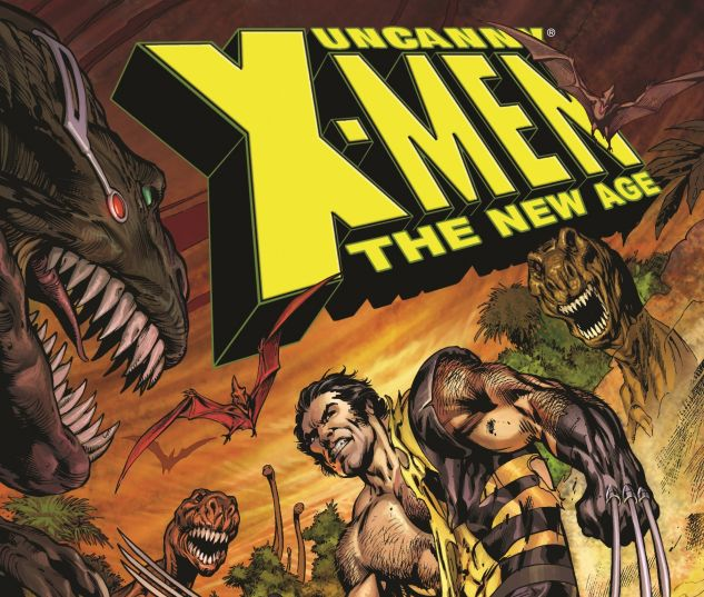 UNCANNY X-MEN - THE NEW AGE VOL. 3: ON ICE 0 cover