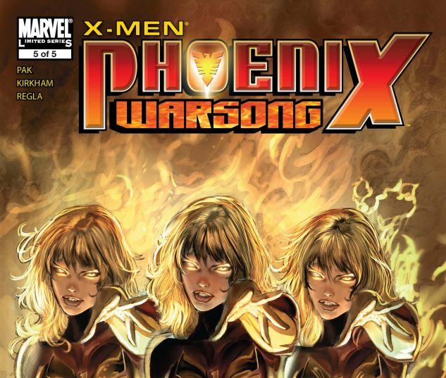 X-Men: Phoenix - Warsong (2006) #5
