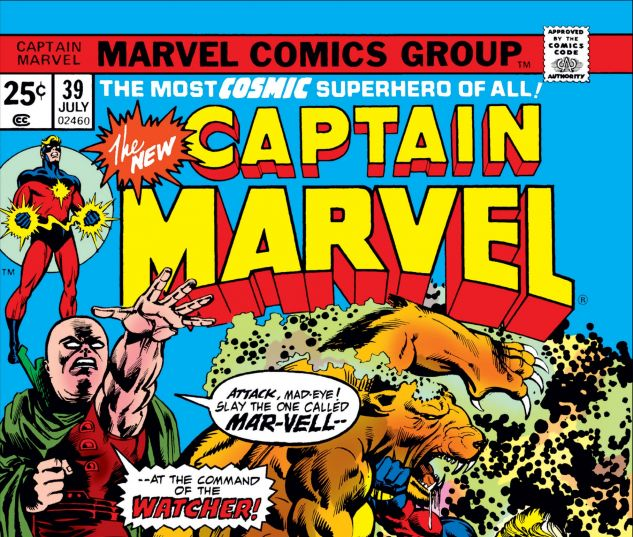 captain marvel 39