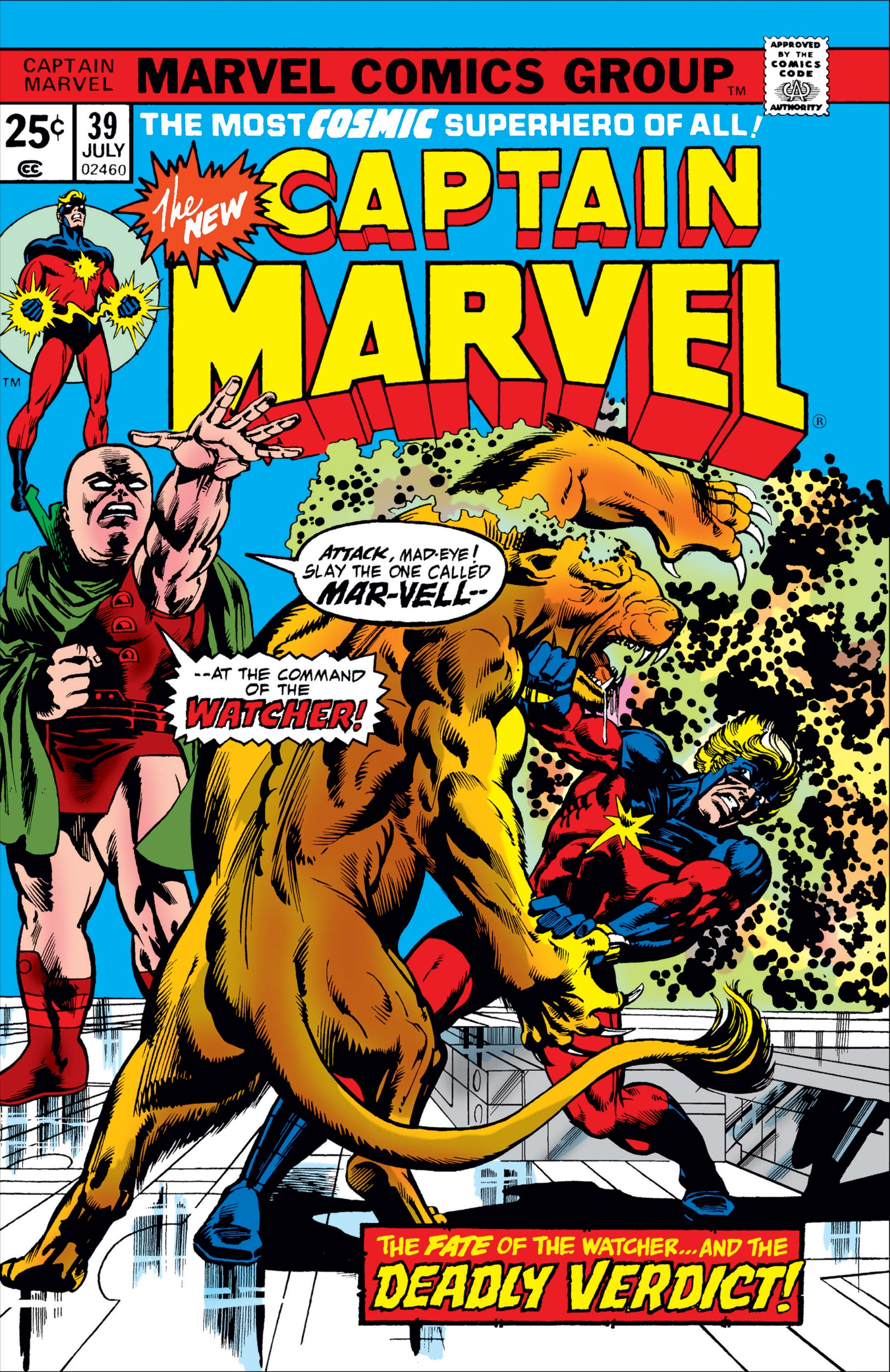 Captain Marvel (1968) #39