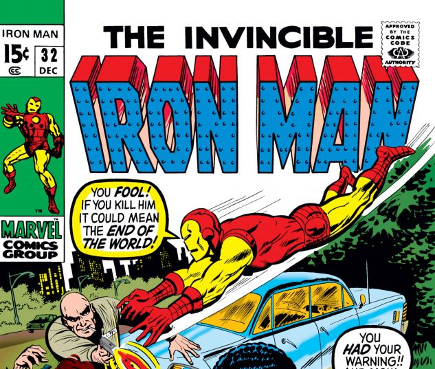Iron Man (1968) #32