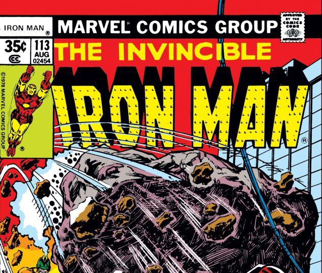 IRON MAN (1968) #113