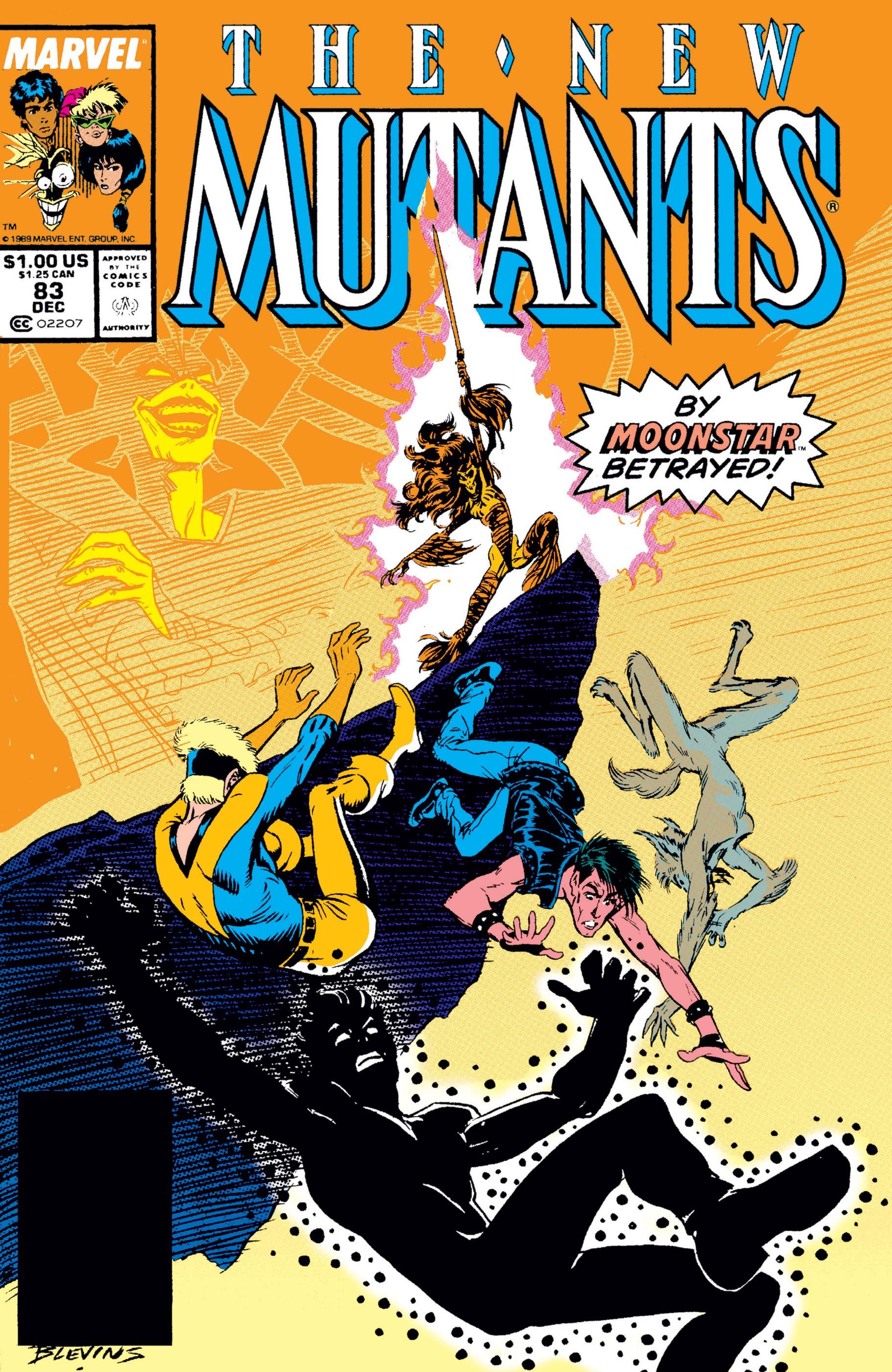 New Mutants (1983) #83