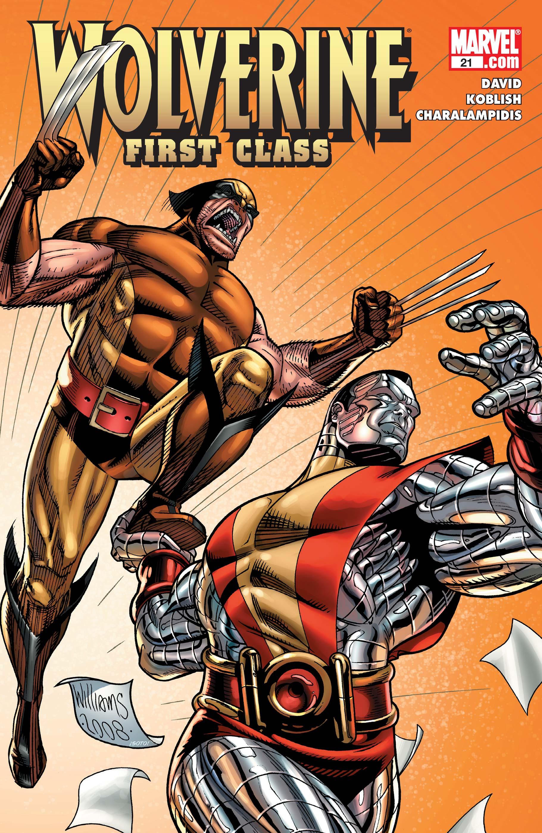 Wolverine: First Class (2008) #21