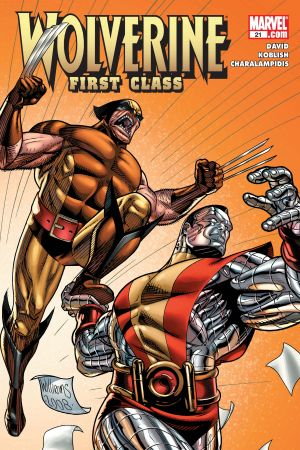 Wolverine: First Class #21