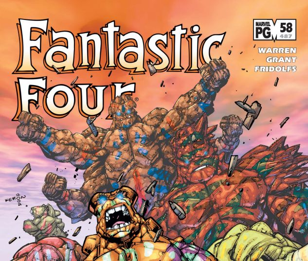 Fantastic Four (1998) #58