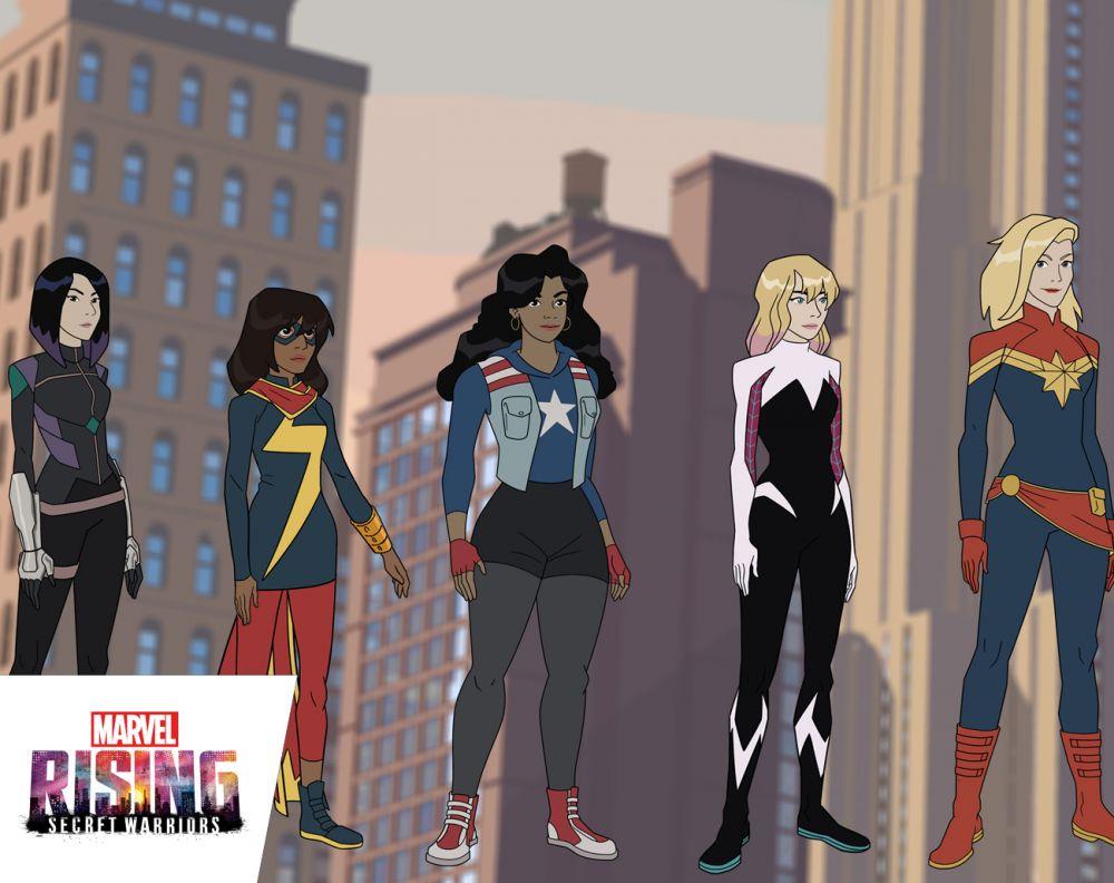 Meet the Secret Warriors in 'Marvel Rising'