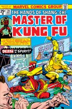 Master of Kung Fu (1974) #28 cover