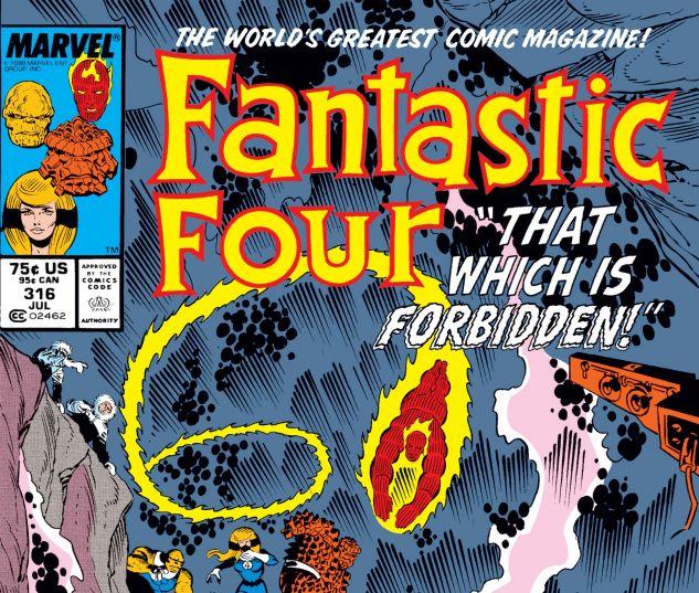 FANTASTIC FOUR (1961) #316