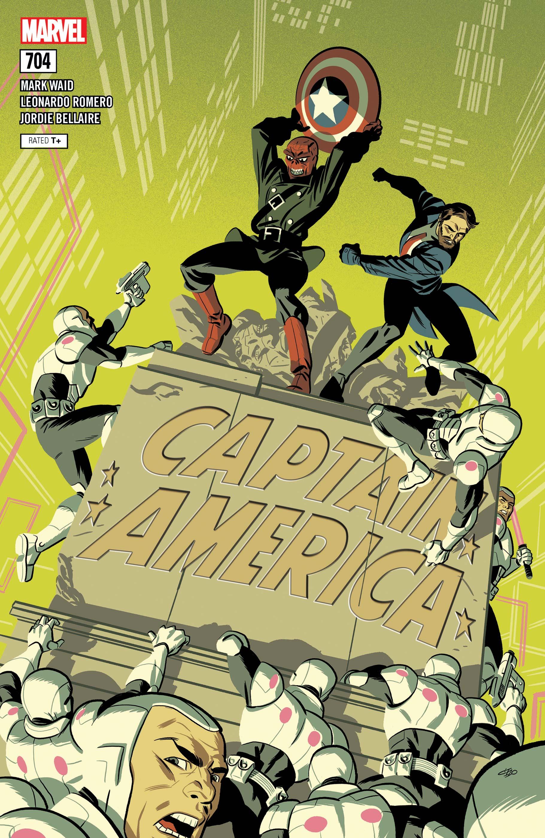 Captain America (2017) #704