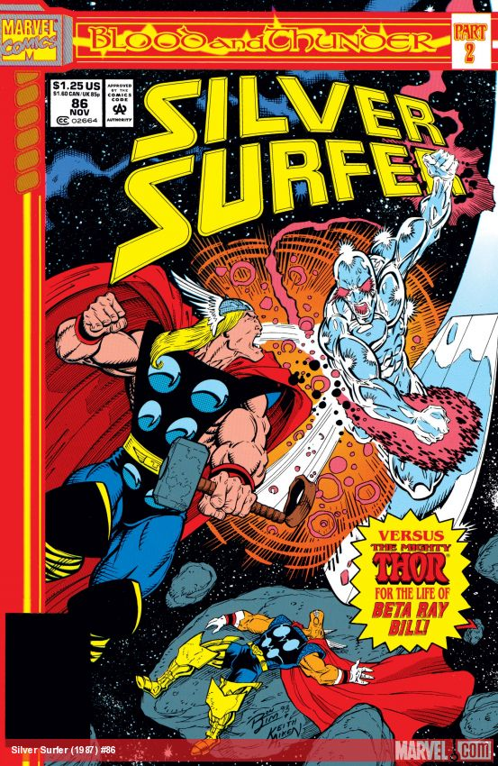 Silver Surfer (1987) #86