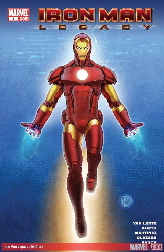 Iron Man Legacy (2010) #1