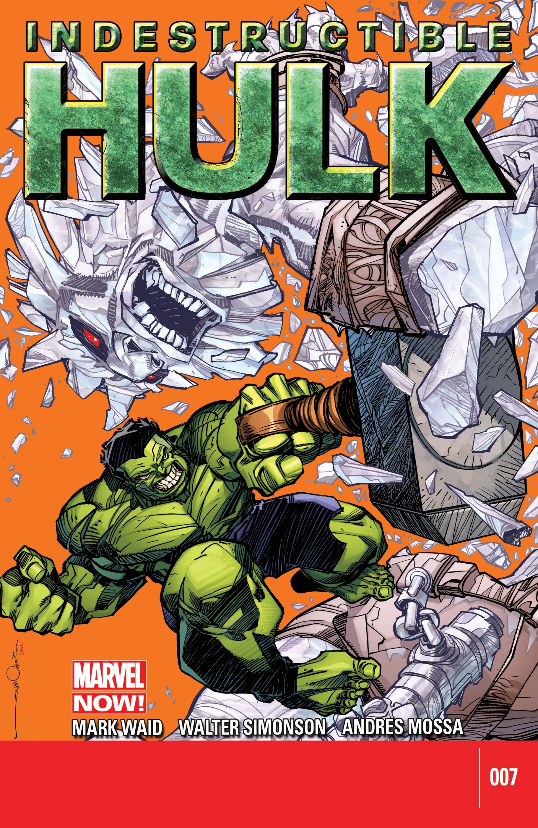 Indestructible Hulk (2012) #7