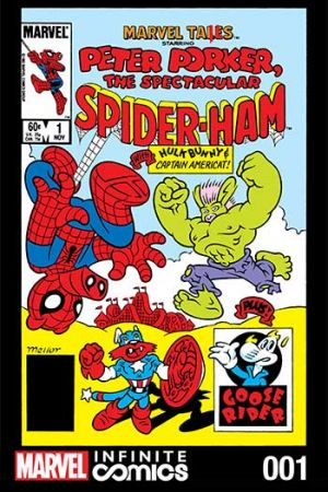 Marvel Tails, the Spectacular Spider-Ham #1