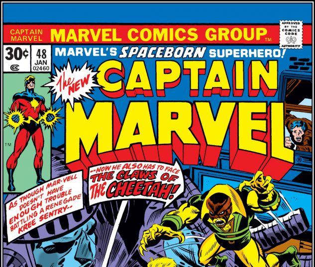 CAPTAIN MARVEL (1968) #48