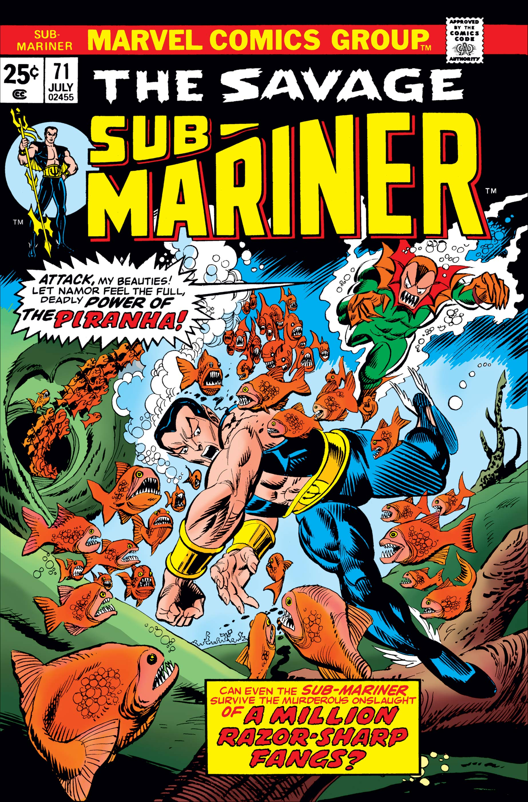 Sub-Mariner (1968) #71
