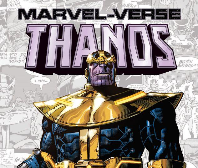 MARVEL-VERSE: THANOS GN-TPB #1
