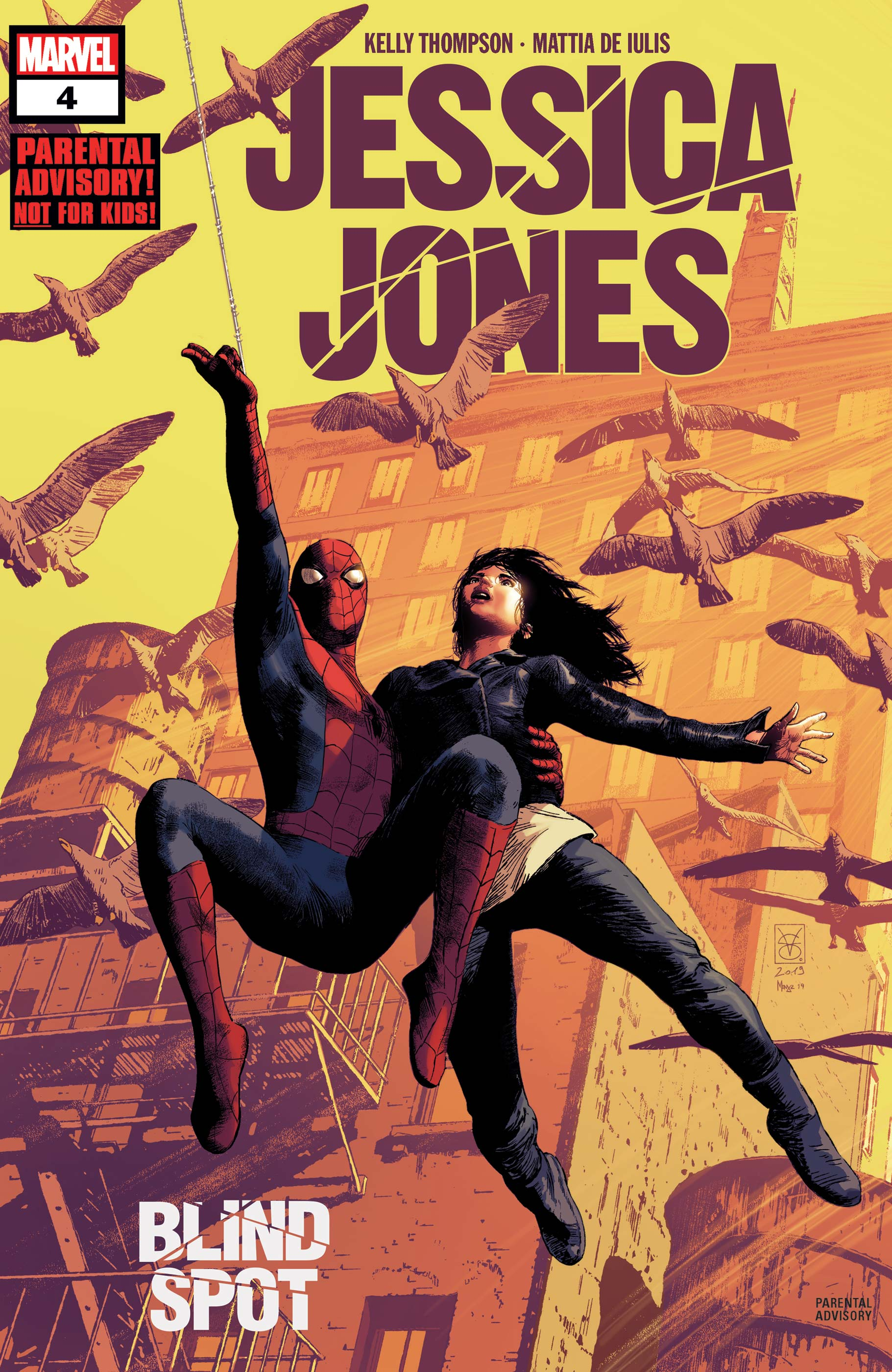 Jessica Jones: Blind Spot (2020) #4