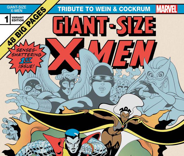 GIANT-SIZE X-MEN: TRIBUTE TO WEIN & COCKRUM 1 MOORE VARIANT #1