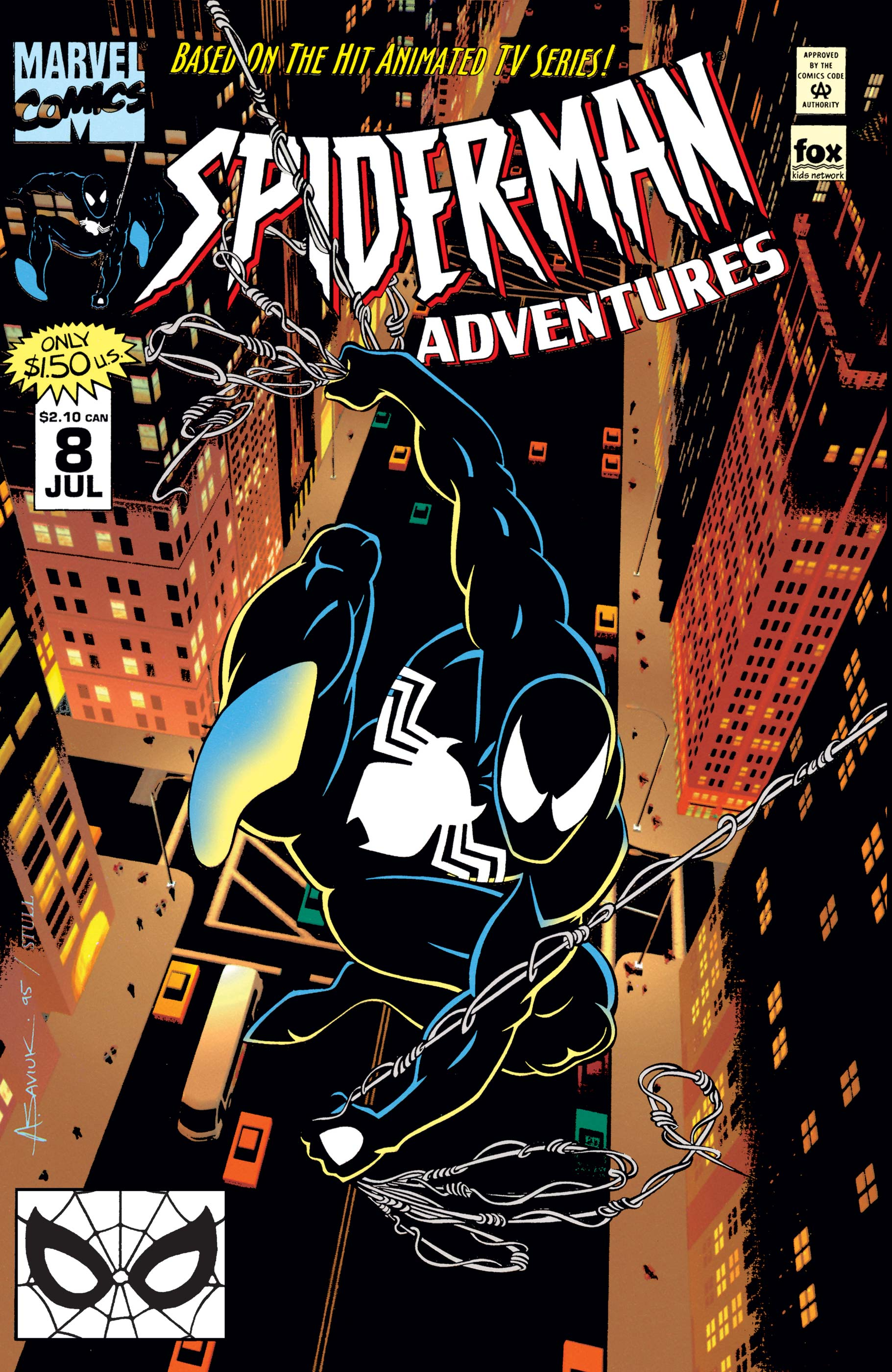 Spider-Man Adventures (1994) #8