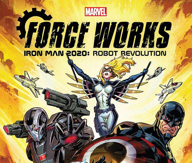 IRON MAN 2020: ROBOT REVOLUTION - FORCE WORKS TPB #1