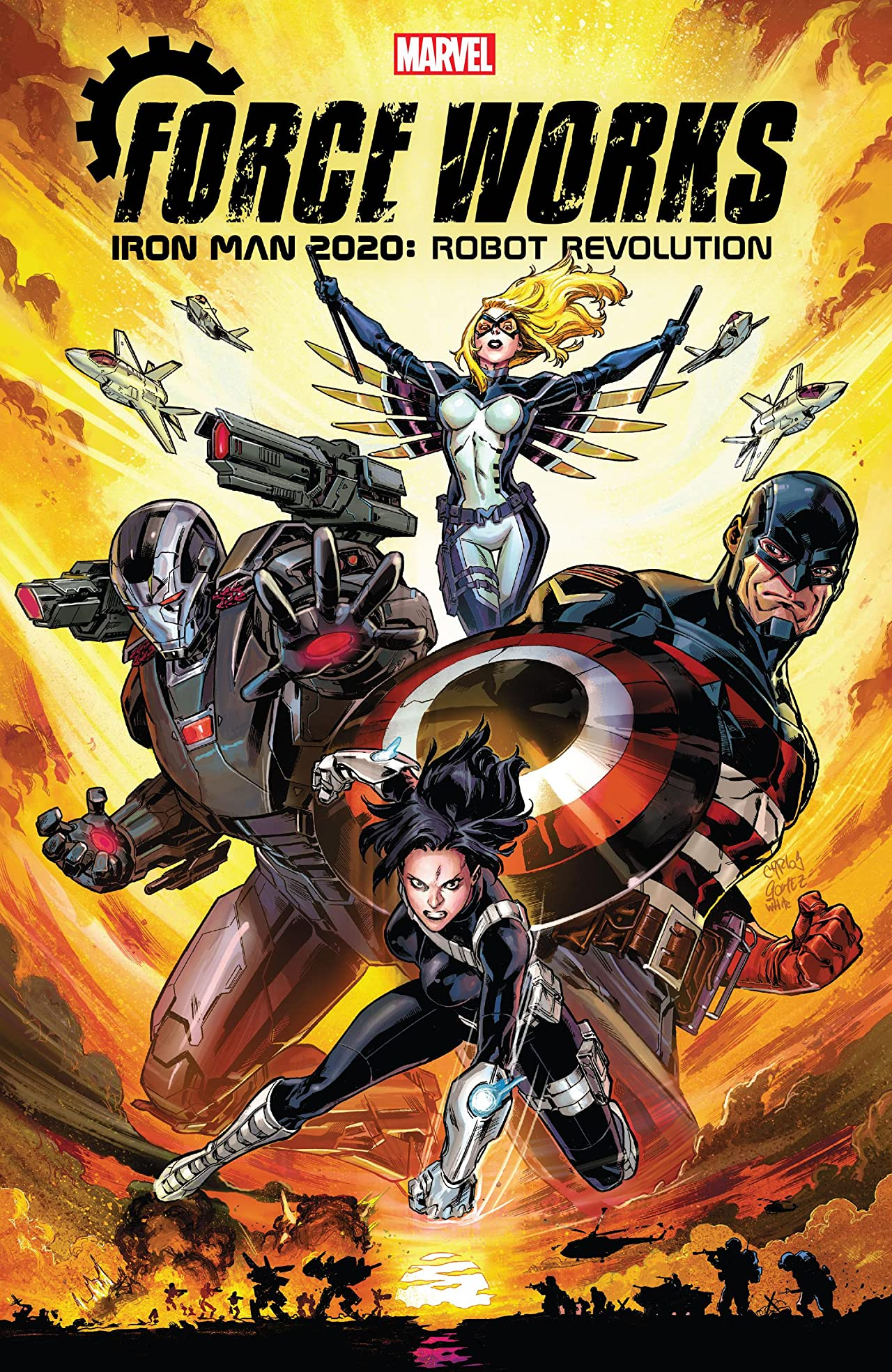 Iron Man 2020: Robot Revolution - Force Works (Trade Paperback)