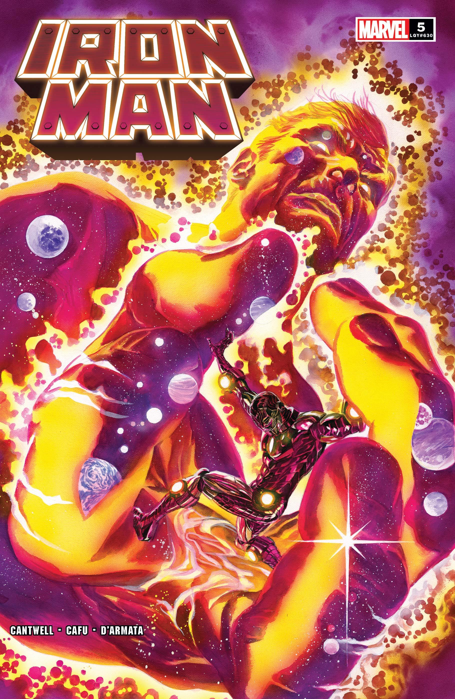 Iron Man (2020) #5