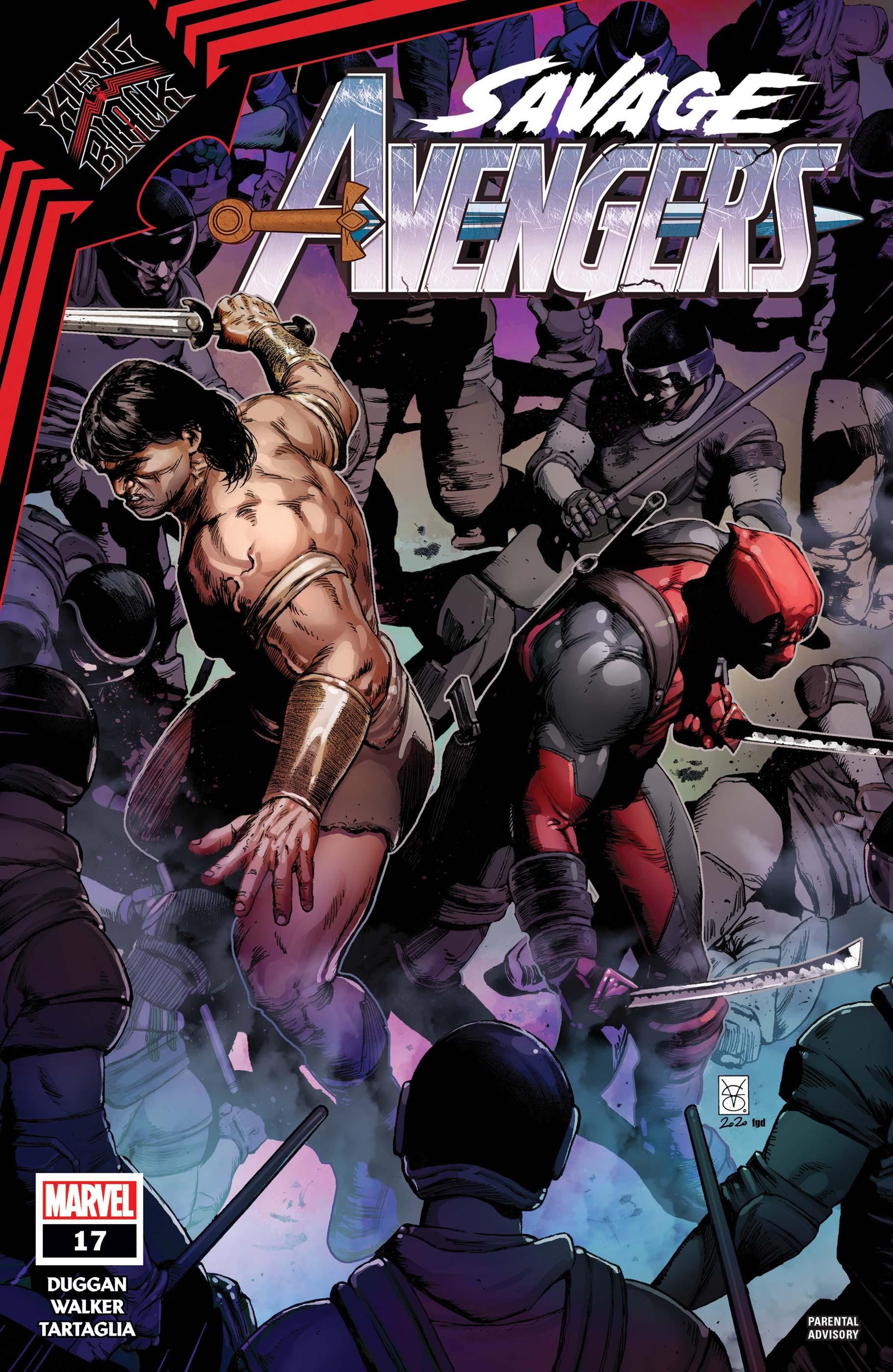 Savage Avengers (2019) #17