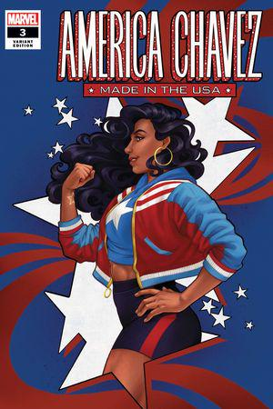 America Chavez: Made in the Usa (2021) #3 (Variant)