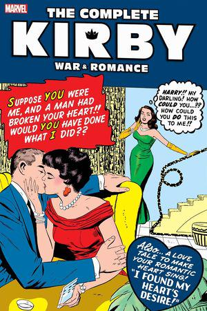 The Complete Kirby War and Romance  (Hardcover)