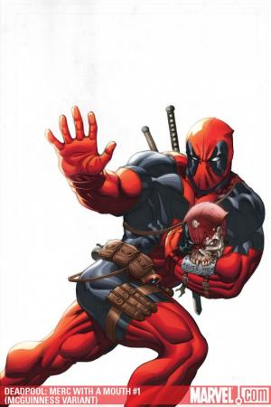 Deadpool: Merc with a Mouth (2009) #1 (MCGUINNESS VARIANT)