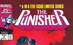 The Punisher (1986) #5 cover