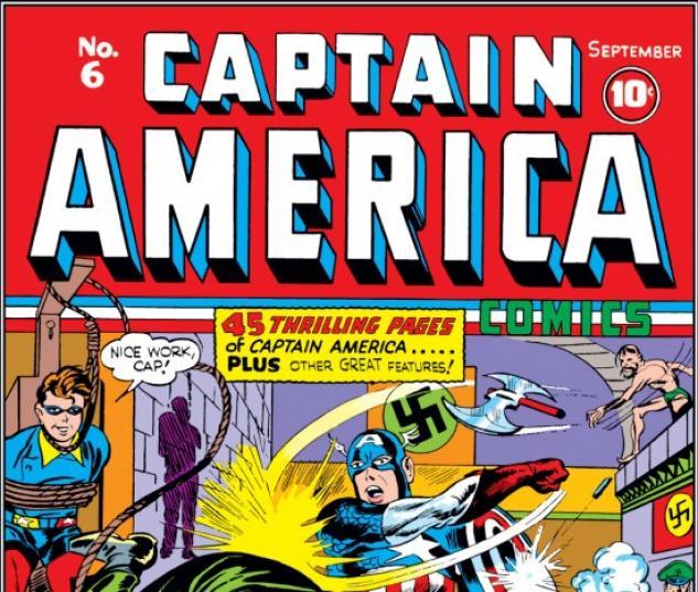 CAPTAIN AMERICA COMICS #6 COVER