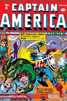 Captain America Comics 1941 6 Comics Marvel Com