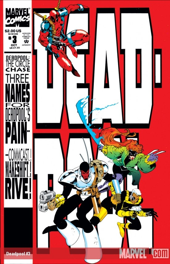 Deadpool: The Circle Chase (1993) #3
