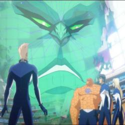 The Supreme Intelligence and the Fantastic Four