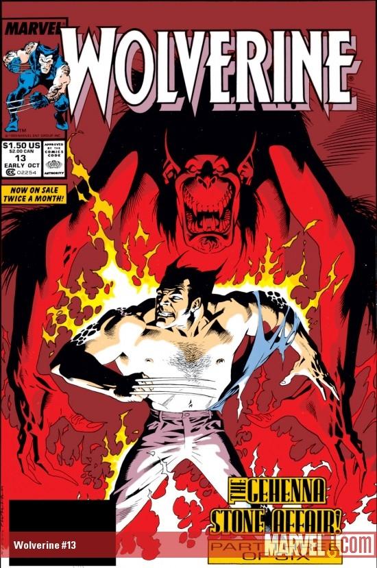 Resultado de imagem para WOLVERINE 1988 # 13