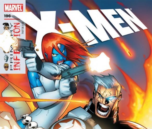 X-MEN #196 COVER