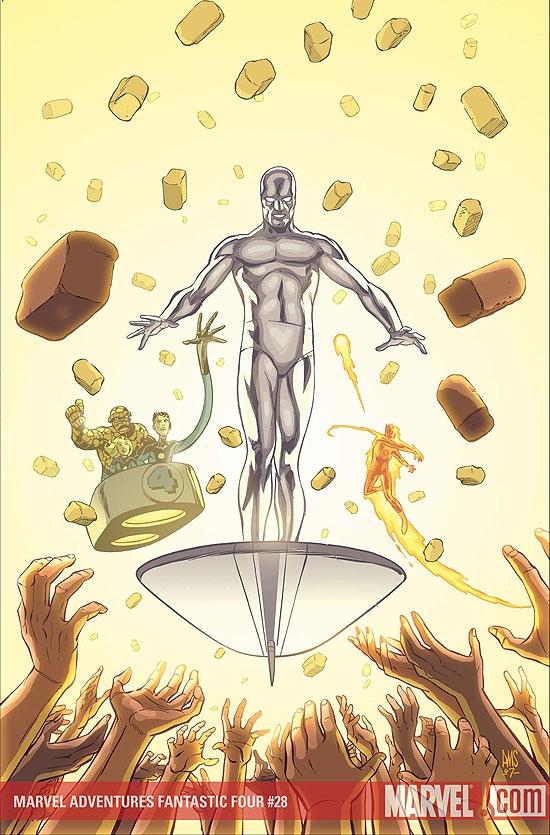 Marvel Adventures Fantastic Four (2005) #28