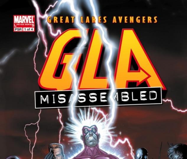 G.L.A. (2007) #1 COVER