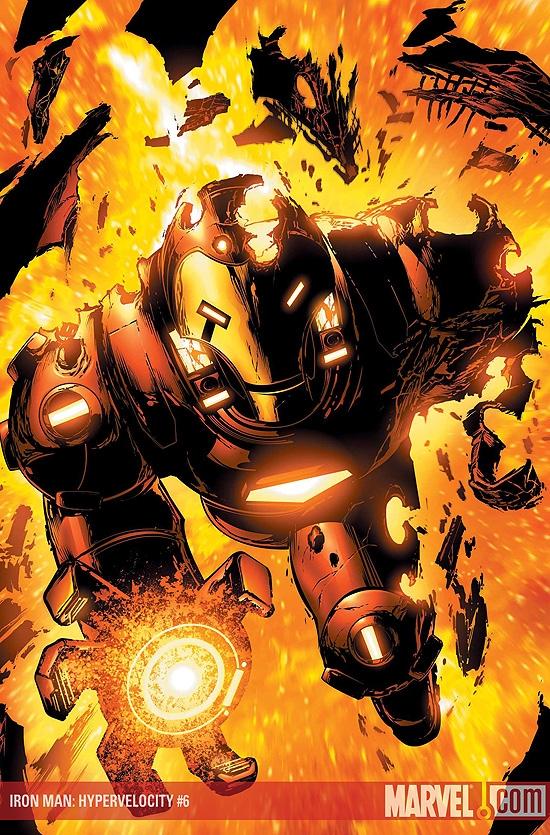 Iron Man: Hypervelocity (2007) #6