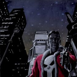 PUNISHER: RED X-MAS (2005) #1 COVER