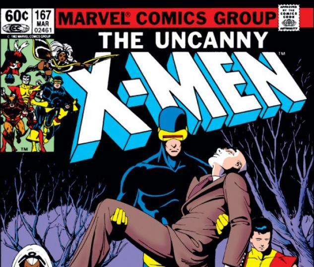 UNCANNY X-MEN #167