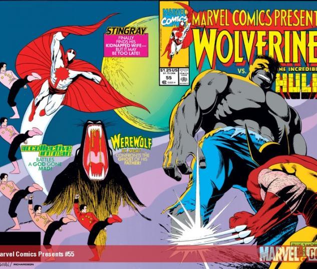 Marvel Comics Presents #55