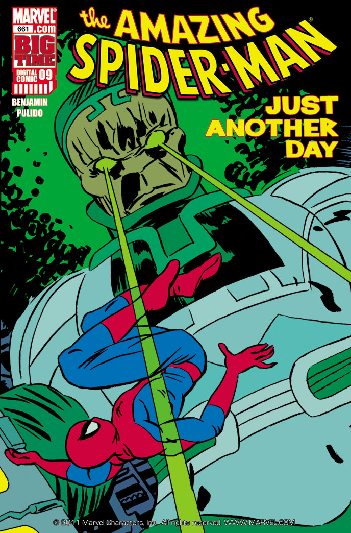 Spider-Man: Big Time (2010) #9