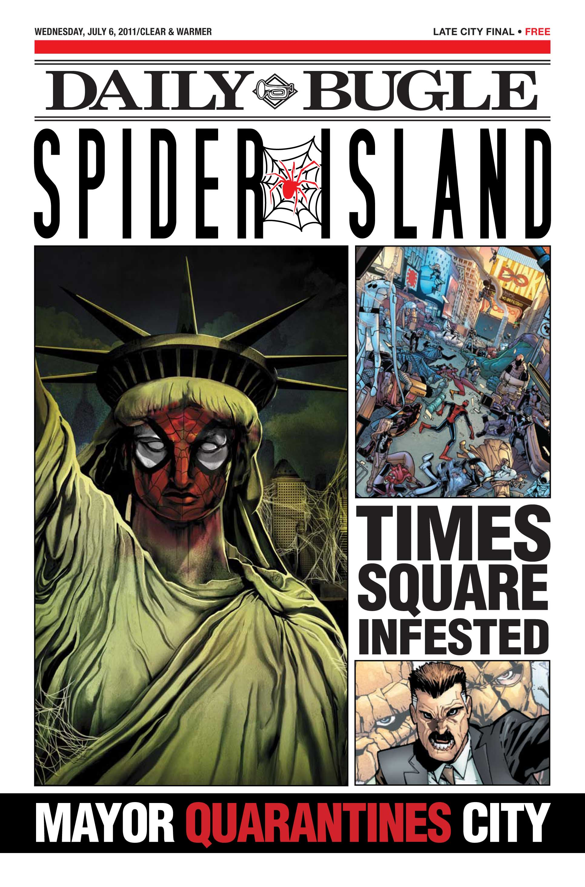 Spider-Island: Daily Bugle (2011) #1