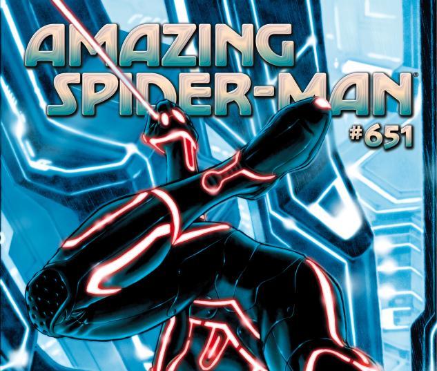 Amazing Spider-Man (1999) #651, Tron Variant