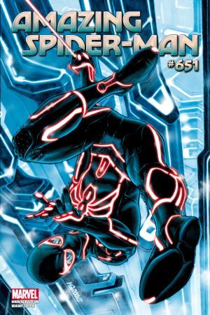 Amazing Spider-Man #651  (TRON VARIANT)